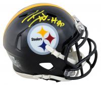 T. J. Watt Signed Steelers Speed Mini-Helmet (Beckett Hologram) at PristineAuction.com