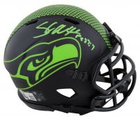 Shaun Alexander Signed Seahawks Eclipse Alternate Speed Mini-Helmet (Beckett COA) at PristineAuction.com