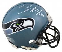Shaun Alexander Signed Seahawks Throwback Mini-Helmet (Beckett COA) at PristineAuction.com