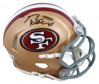 George Kittle Signed 49ers Speed Mini-Helmet (Beckett Hologram) at PristineAuction.com