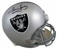 Howie Long Signed Raiders Full-Size Helmet (Beckett COA) at PristineAuction.com