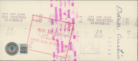 """Theodore """"Ted"""" Williams Signed Hand-Written 1978 Personal Bank Check (Beckett LOA & Ted Williams COA) at PristineAuction.com"""
