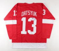 Pavel Datsyuk Signed Jersey (Beckett COA) (See Description) at PristineAuction.com