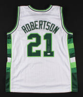 """Alvin Robertson Signed Jersey Inscribed """"4x AS"""" (JSA COA) at PristineAuction.com"""
