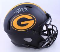 Davante Adams Signed Packers Full-Size Eclipse Alternate Speed Helmet (JSA COA) at PristineAuction.com