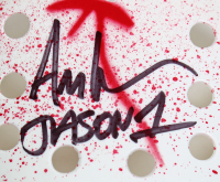 """Ari Lehman Signed """"Friday the 13th"""" Mask Inscribed """"Jason 1"""" (Beckett COA) (See Description) at PristineAuction.com"""