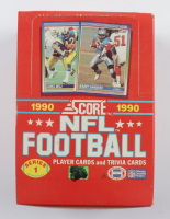 1990 Score Series 1 Football Wax Box of (36) Packs at PristineAuction.com