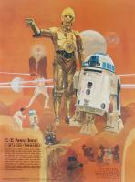 R2-D2 & C-3PO 18x24 Star Wars Photo at PristineAuction.com