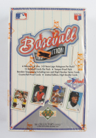 1991 Upper Deck Baseball Low # Series Factory Sealed Wax Box - 36 Packs at PristineAuction.com