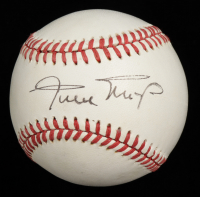 Willie Mays Signed ONL Baseball (Beckett LOA) at PristineAuction.com