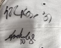 1998-99 Spurs Team Adjustable Hat Signed by (12) Including Tim Duncan, David Robinson, Sam Elliott, Steve Kerr (Beckett LOA) at PristineAuction.com