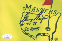 """Gary Player Signed 4x6 Photo Inscribed """"61 74 78"""" & """"52 Times""""(JSA COA) at PristineAuction.com"""
