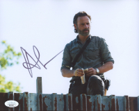 """Andrew Lincoln Signed """"The Walking Dead"""" 8x10 Photo (JSA Hologram) at PristineAuction.com"""