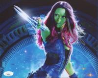 "Zoe Saldana Signed ""Guardians of the Galaxy"" 8x10 Photo (JSA Hologram) at PristineAuction.com"