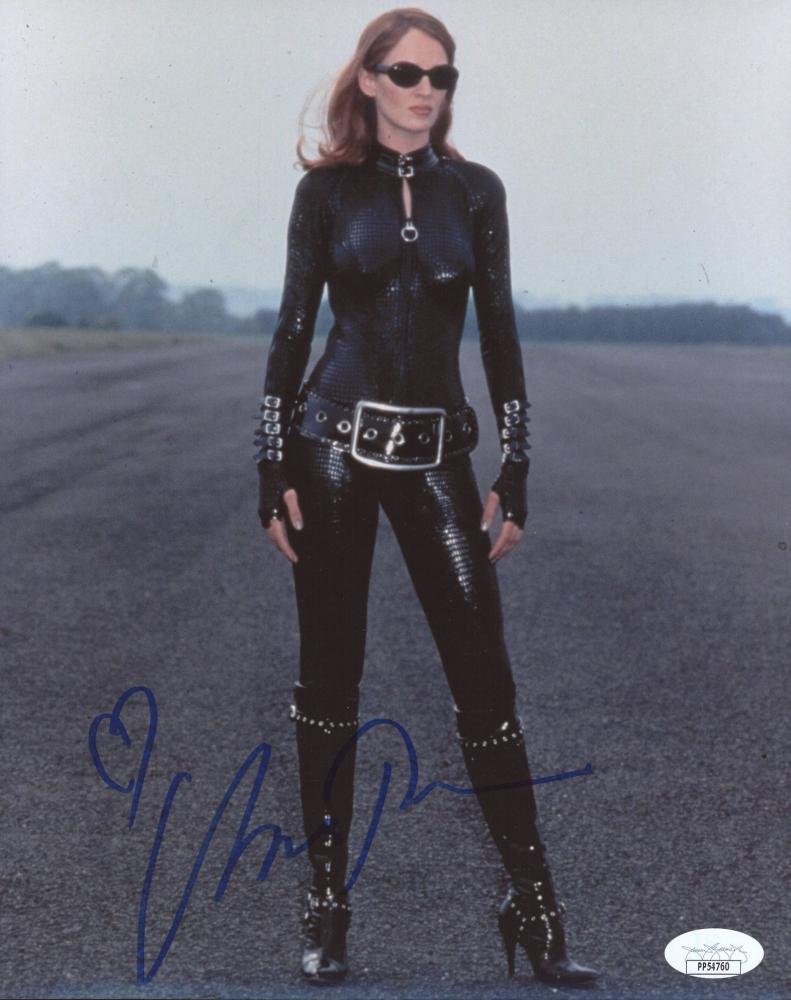 """Uma Thurman Signed 8x10 """"The Avengers"""" Photo (JSA COA) at PristineAuction.com"""
