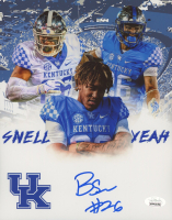 Benny Snell Jr. Signed Kentucky Wildcats 8x10 Photo (JSA COA) at PristineAuction.com