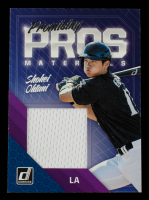 Shohei Ohtani 2018 Donruss Promising Pros Materials #PPMSO at PristineAuction.com