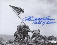 """Hershel Williams Signed 8x10 Photo Inscribed """"Medal of Honor"""" (JSA COA) at PristineAuction.com"""