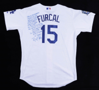 Rafael Furcal Signed Jersey with Extensive Inscription (JSA COA) (See Description) at PristineAuction.com