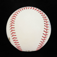 """Charlie Morton Signed 2017 World Series Baseball Inscribed """"Best Wishes, Last Out"""" (JSA COA) at PristineAuction.com"""