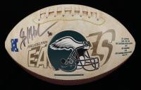 Brian Mitchell Signed Eagles Logo Football (JSA COA) at PristineAuction.com