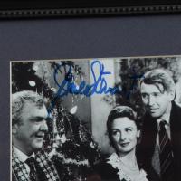 "Jimmy Stewart Signed ""It's A Wonderful Life"" 13x13 Custom Framed Photo Display (JSA Hologram) at PristineAuction.com"