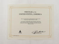 American Flag Flown Over the Capitol on February 23, 2020 (Architect of the Capitol COA) at PristineAuction.com
