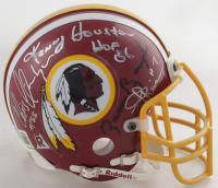 Redskins Mini Helmet Signed By (11) Kenny Houston, Paul Krause, Chris Hanburger, Bill Dudley, Deacon Jones, & Bobby Mitchell (Beckett LOA) at PristineAuction.com