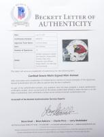 Cardinals Mini Helmet Signed By (10) Dan Dierdorf, Jackie Smith, Charley Trippi, Don Maynard, Larry Wilson, & Roger Wehrli (Beckett LOA) at PristineAuction.com