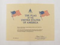 American Flag Flown Over the Capitol on April 4, 2018 (Architect of the Capitol COA) at PristineAuction.com
