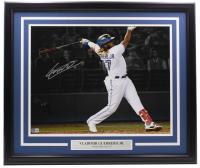 Vladimir Guerrero Jr. Signed Blue Jays 22x27 Custom Framed Photo Display (Beckett Hologram) at PristineAuction.com