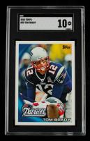 Tom Brady 2010 Topps #30 (SGC 10) at PristineAuction.com