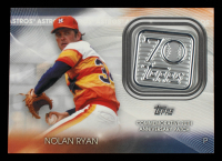 Nolan Ryan 2021 Topps 70th Anniversary Commemorative Logo Patches #70LPNR at PristineAuction.com