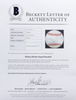 """Mickey Mantle Signed Official 1994 World Series Baseball Inscribed """"No. 7"""" (Beckett LOA) at PristineAuction.com"""
