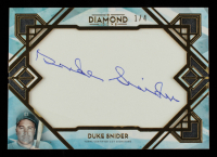 Duke Snider 2020 Topps Diamond Icons Cut Signatures #CSDS #1/4 at PristineAuction.com
