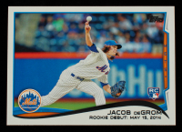 Jacob deGrom 2014 Topps Update #US57 at PristineAuction.com