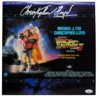 """Christopher Lloyd Signed """"Back to the Future Part II"""" Laserdisc Case (JSA COA) at PristineAuction.com"""