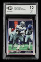 Emmitt Smith 1990 Score Supplemental #101T RC (BCCG 10) at PristineAuction.com