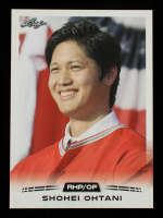 Shoehi Ohtani 2018 Leaf Ohtani Retail #01 at PristineAuction.com