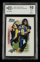 Aaron Rodgers 2005 Topps Draft Picks and Prospects #152 RC (BCCG 10) at PristineAuction.com