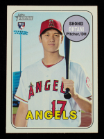 Shohei Ohtani 2018 Topps Heritage #600 RC at PristineAuction.com