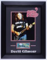 David Gilmour Signed Pink Floyd 15x19 Custom Framed Cut Display (JSA COA) (See Description) at PristineAuction.com