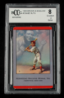 Babe Ruth 1953 Brown and Bigelow #5 (BCCG 8) at PristineAuction.com