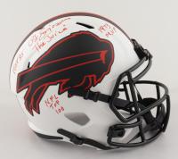 O. J. Simpson Signed Bills Full-Size Lunar Eclipse Alternate Speed Helmet with Multiple Inscriptions (JSA COA) at PristineAuction.com
