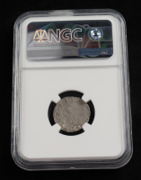 Alexander I (1501-1506) Lithuania 1/2 Groschen Medieval Silver Coin (NGC XF40) at PristineAuction.com