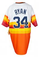 Nolan Ryan Signed Astros Jersey (Beckett COA, AIV Hologram & Ryan Hologram) at PristineAuction.com