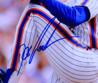 Dwight Gooden Signed Mets 8x10 Ceramic Tile (Beckett COA) at PristineAuction.com