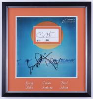 Carlos Santana, Greg Rolie, & Neal Schon Signed 18x19 Custom Framed Cut Display (JSA COA) (See Description) at PristineAuction.com