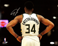 Giannis Antetokounmpo Signed Bucks 11x14 Photo (JSA COA) at PristineAuction.com