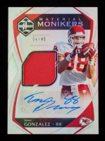 Tony Gonzalez 2019 Limited Material Monikers #5 #34/49 at PristineAuction.com